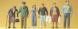 Preiser 10378 Passanten und Polizist | 6 Miniaturfiguren Spur H0 online kaufen