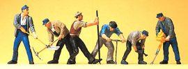 Preiser 10418 Gleisbauarbeiter Figuren Spur H0 online kaufen