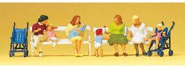 Preiser 10522 Sitzende Frauen mit Kinderwagen Figuren Spur H0 online kaufen