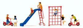 Preiser 10616 Spielende Kinder mit Zubehör 7 Figuren Fertigmodell 1:87 online kaufen