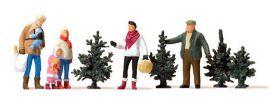 Preiser 10627 Weihnachtsbaumverkauf 5 Figuren mit Zubehör 1:87 online kaufen