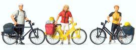 Preiser 10643 Radfahrer in sportlicher Kleidung (1) Figuren Spur H0 online kaufen