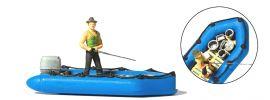Preiser 10687 Angler im Schlauchboot und Zubehör Fertigmodell 1:87 online kaufen
