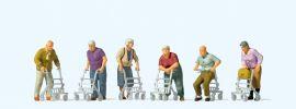 Preiser 10718 Senioren mit Rollator | Figuren Spur H0 1:87 online kaufen