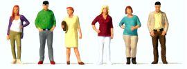Preiser 10726 Stehende Passanten 6 Figuren Fertigmodell 1:87 online kaufen