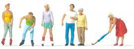 Preiser 10740 Skater, Spaziergänger | Spur H0 online kaufen