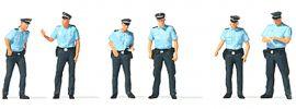 Preiser 10743 Polizei Sommeruniform Deutschland | Figuren Spur H0 online kaufen