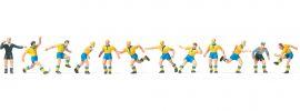 Preiser 10755 Fussballmanschaft mit gelbem Trikot 12 Figuren Fertigmodell 1:87 online kaufen