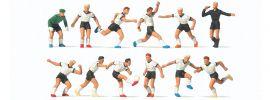 Preiser 10758 Fussballmannschaft mit weissem Trikot 12 Figuren Fertigmodell 1:87 online kaufen
