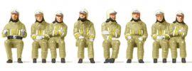Preiser 10769 Feuerwehrmänner in moderner Einsatzkleidung | 8 Stück | Figuren Spur H0 online kaufen