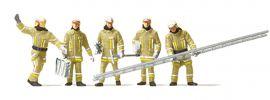 Preiser 10770 Feuerwehrmänner in moderner Einsatzkleidung | 5 Stück | Figuren Spur H0 online kaufen