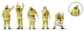 Preiser 10772 Feuerwehrmänner in moderner Einsatzkleidung | 5 Stück | Figuren Spur H0 online kaufen