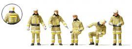 Preiser 10773 Feuerwehrmänner in moderner Einsatzkleidung | 5 Stück | Figuren Spur H0 online kaufen