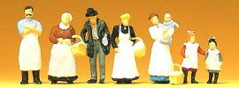 Preiser 12193 Am Kolonialwarengeschäft um 1900 Figuren Spur H0 online kaufen