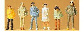 Preiser 14005 Jugendliche  6 Stück   Figuren Spur H0 online kaufen