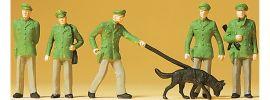 Preiser 14008 Polizisten | 6 Stück | Figuren Spur H0 online kaufen