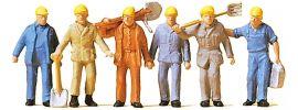 Preiser 14033 Gleisbauarbeiter | Figuren Spur H0 online kaufen