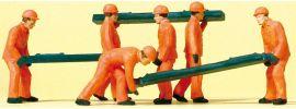 Preiser 14036 Schwellenträger   6 Stück   Figuren Spur H0 online kaufen