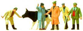 Preiser 14039 Viehhandel | 6 Stück | Figuren Spur H0 online kaufen