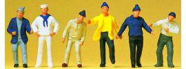 Preiser 14063 Schiffsbesatzung   6 Stück   Figuren Spur H0 online kaufen