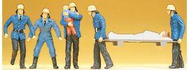 Preiser 14202 Feuerwehrmänner | 6 Stück | Figuren Spur H0 online kaufen