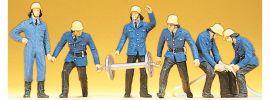 Preiser 14204  Feuerwehrmänner | 6 Stück | Figuren Spur H0 online kaufen