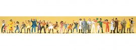 Preiser 14414 Volksfestbesucher | 30 Miniaturfiguren | Spur H0 online kaufen