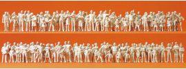Preiser 16343 Passanten und Zuschauer   130 Stück unbemalt   Figuren 1:87 online kaufen