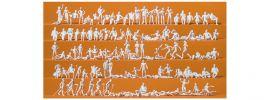 Preiser 16357 Freizeit am See 120 unbemalte Figuren Bausatz 1:87 online kaufen