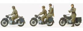 Preiser 16598 Kradschützen aufgesessen Wehrmacht | 4 Stück | Figuren Spur H0 online kaufen