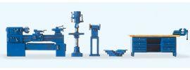 Preiser 17706 Werkstatteinrichtung | Einrichtungs-Set Spur H0 1:87 online kaufen