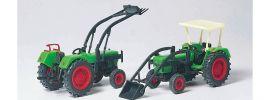 Preiser 17922 Schlepper-Set 2-tlg. DEUTZ D 6206 | Bausatz | Landwirtschaftsmodell 1:87 online kaufen