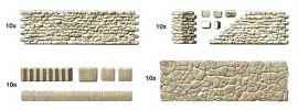Preiser 18219 Gehweg und Bruchsteinmauer Bausatz 1:87 online kaufen