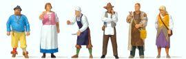 Preiser 24761 Mittelaltermarkt (2) | 6 Stück | Figuren Spur H0 online kaufen
