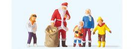 Preiser 29098 Weihnachtsmann mit Kindern | Miniaturfiguren 1:87 online kaufen