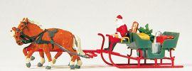Preiser 30448 Weihnachtsmann auf Schlitten mit Paketen | Miniaturfiguren 1:87 online kaufen