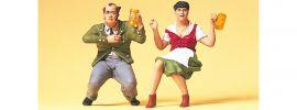Preiser 45107 Im Biergarten 2 Stk   Figuren Spur G online kaufen