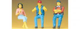 Preiser 57001 Sitzende LKW-Fahrer + Beifahrer 3 Stk   Figuren 1:25 online kaufen
