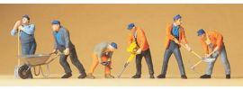 Preiser 65336 Gleisbauarbeiter Figuren 1:43 online kaufen