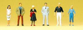 Preiser 80907 Passanten | Miniaturfiguren 1:200 | geeignet für Spur Z online kaufen