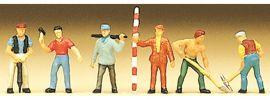 Preiser 88514 Arbeiter Figuren | 6 Stück |  Spur Z online kaufen