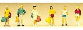 Preisler 88522 reisende Teenager | 6 Stück | Figuren Spur Z online kaufen