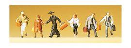 Preiser 88526 Laufende Reisende 6 Figuren Fertigmodell 1:220 online kaufen