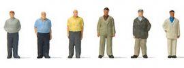 Preiser 88561 Stehende Männer | 6 Stück | Figuren Spur Z online kaufen