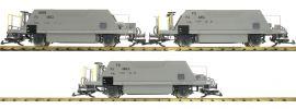Pullman 36050 3-teiliges Set Schotterwagen Typ Fd | RhB | Spur G online kaufen
