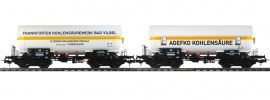 Pullman 36526 2-tlg. Set Gas-Kesselwagen ZAG 620 Frankf.KS/AGEFKO | DC | Spur H0 online kaufen