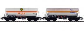 Pullman 36527 Gas-Kesselwagen Set ZAG 620 | ESSO/BP | DC | Spur H0 online kaufen