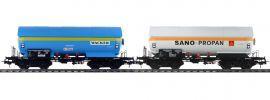 Pullman 36529 2-tlg. Set Gas-Kesselwagen ZAG 620 Wacker/Sano | DC | Spur H0 online kaufen