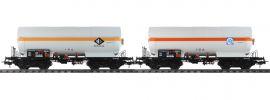 Pullman 36533 2-tlg. Set Gas-Kesselwagen ZAG 620 Degussa/ITG   DC   Spur H0 online kaufen