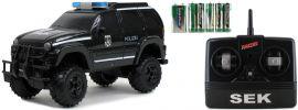 Racer 33740115 Polizei SEK RC-Auto, schwarz | mit Licht + Sound | 2.4GHz | RTR | 1:14 online kaufen